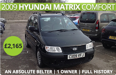 Used Hyundai Matrix Used Car for Sale in Stockport