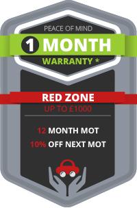 1 Month Warranty - Red Zone Benefits
