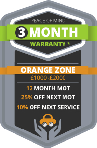 3 Month Warranty - Orange Zone