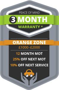 3 Month Warranty - Orange Zone