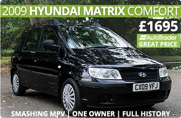 Smashing Hyundai Matrix 2009