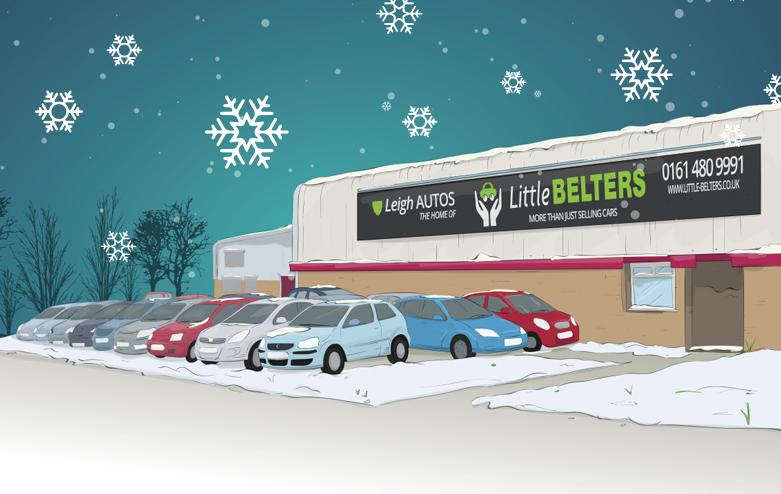 Christmas Exterior Illustration