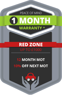 1 Month Warranty - Red Zone Benefits