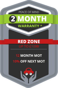 2 Month Warranty + Red Zone Benefits for Total Peace of Mind