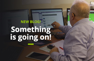 Blog - Something's going on!