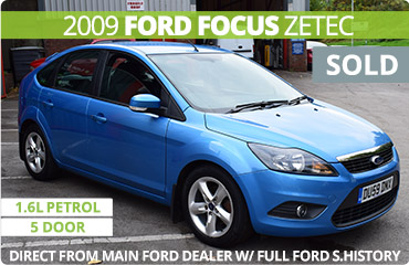 Feature Ford Focus Sold