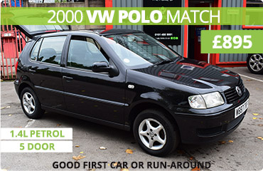 Feature - VW Polo Match for Sale in Stockport