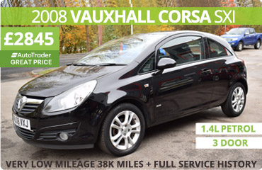 2008 Vauxhall Corsa for Sale