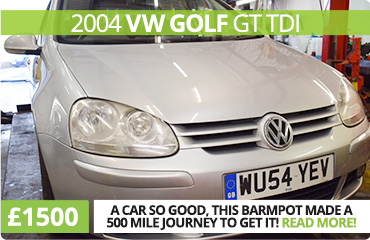 Exceptional 2004 VW Golf for Sale