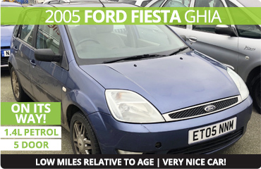 On its way - Ford Fiesta Ghia