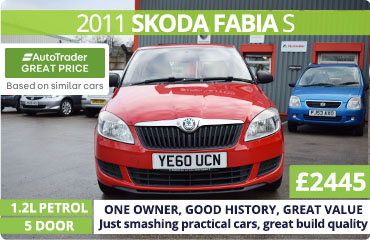 2011 Skoda Fabia for Sale in Stockport