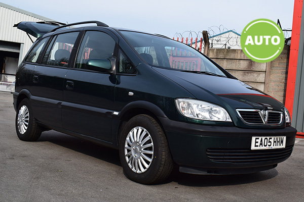 Used Automatic Vauxhall Zafira for Sale in Stockport