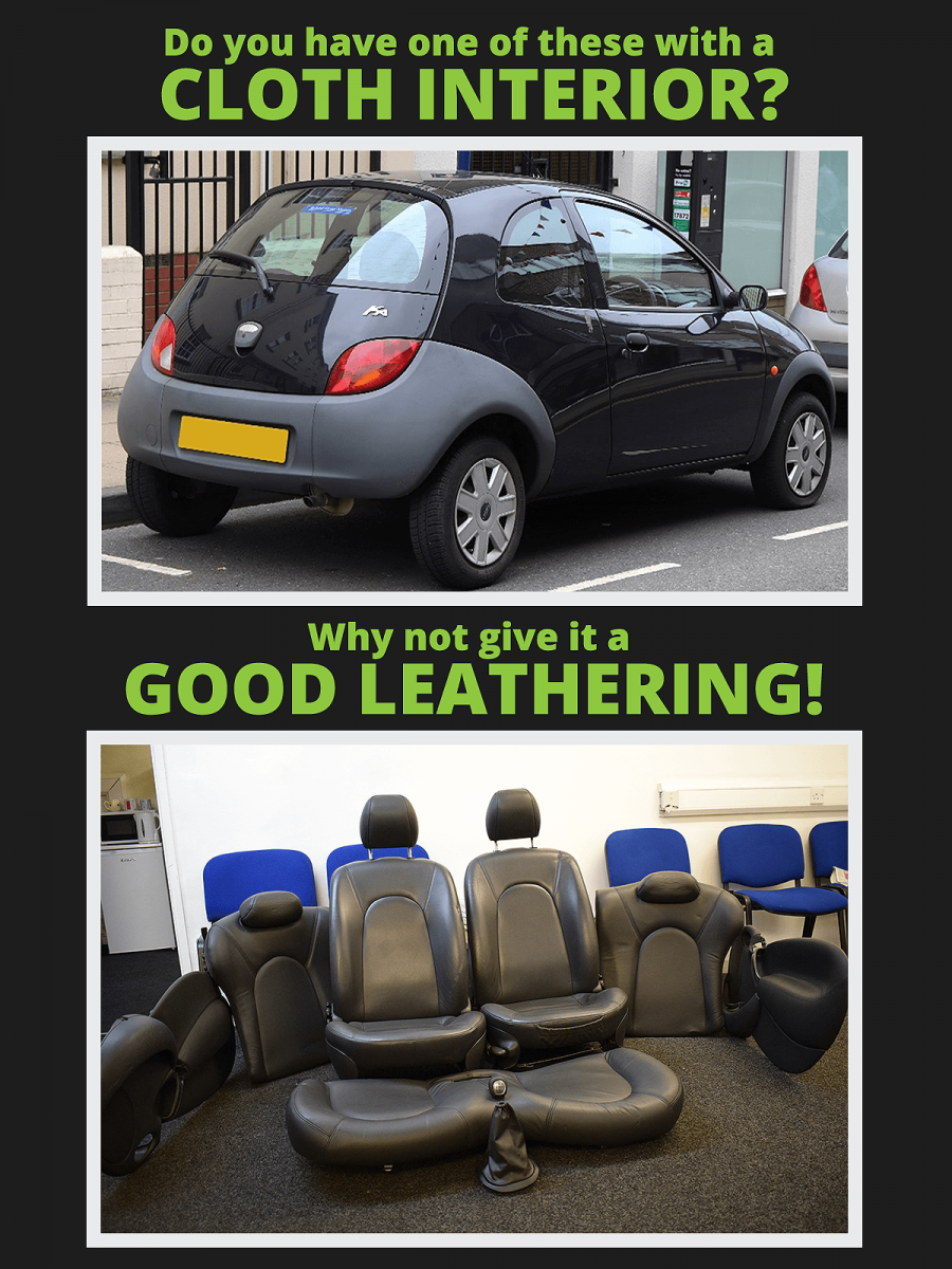 Leather interior for Ford KA